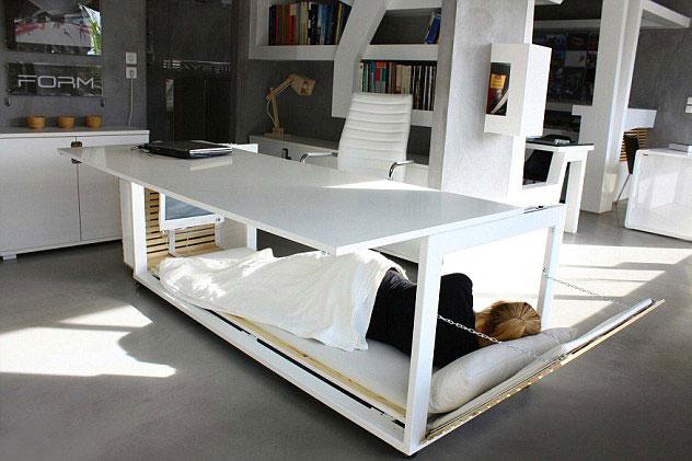 بالصور مكتب مثالي لمحبى النوم